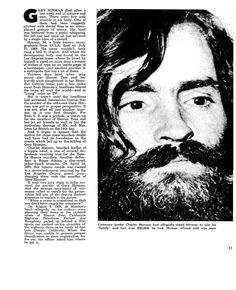 charles manson ,serial killer