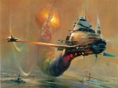 Image result for 1970s sci fi ships
