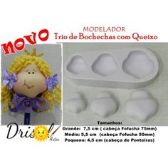 Modelador NOVO Trio de Bochechas com Queixo