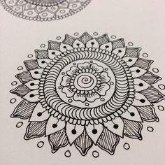 Ink Mandala