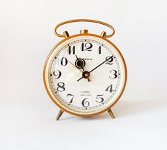Vintage Jantaz Clock by wwvintage on Etsy