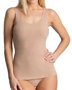 Hanky Panky Bare Scoop Neck Tank M Taupe *** See this great product.