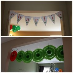Very Hungry Caterpillar Birthday: Party decor - You Name It Events