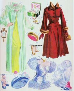 1951 Betty Grable paper doll clothes / eBay * 1500 free paper dolls Arielle Gabriel's The International Paper Doll Society #QuanYin5 Twitter QuanYin5 Linked In #ArtrA *