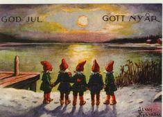 God Jul  Jenny Nyström 🐐