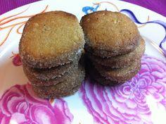 Las recetas de Martuka: Galletas Crujientes Con Jengibre Y Canela