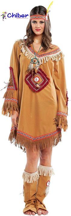 Disfraz India Navajo: Llegados desde Canadá, los navajos se establecieron en el suroeste de Estados Unidos en el siglo XIII. Cazadores y recolectores por naturaleza, aprendieron a cultivar y tejer de los indios pueblo. De los españoles, con los que entraron en contacto en el siglo XVII, aprendieron a criar ovejas y a trabajar la plata y las piedras preciosas. https://www.disfraceschiber.es/637-disfraz-india-navajo.html