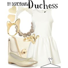 Duchess, created by lalakay on Polyvore #disney