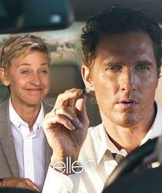 Matthew McConaughey Commercial - Ellen Degeneres Show