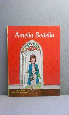 """I loved these books!  Vintage Children's Book - Amelia Bedelia 1970 Scholastic  Use promo code """"SATISFACTION"""" for 20% off! ALL sales thru New Years will go to World Vision!"""