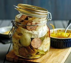 Preserves, Pickles, Ham, Cucumber, Food And Drink, Cooking Recipes, Homemade, Snacks, Meals