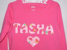 Name Tee. Tasha.