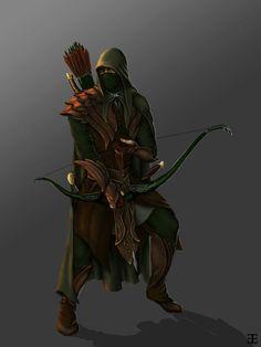 Elven Ranger by Atohas on DeviantArt