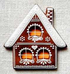 Today we are looking at Moravian and Bohemian gingerbread designs from the Czech Republic. Back home, gingerbread is eaten year round and beautifully decorated cookies are given on all occasions. Christmas Gingerbread House, Noel Christmas, Christmas Baking, Christmas Crafts, Gingerbread Houses, Italian Christmas, Gingerbread Decorations, Candy Christmas Decorations, Gingerbread Cookies