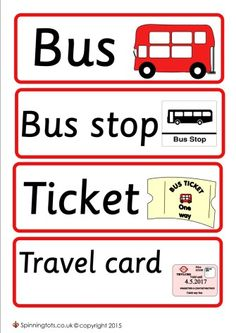 Role play The Bus Energy Bus, Play Poster, Bus Tickets, Travel Cards, Space Theme, Bus Stop, Dramatic Play, Year 2, Numeracy