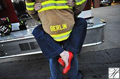 #Engagement #Photos #Pose #Fireman