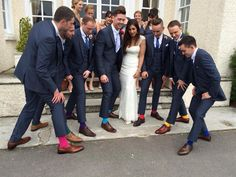 Wedding socks!