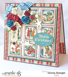 Love this Graphic 45 paper collection! - A Christmas Carol, Part 2 | Scraps of Life | Bloglovin'