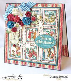 Scraps of Life - Graphic 45 A Christmas Carol