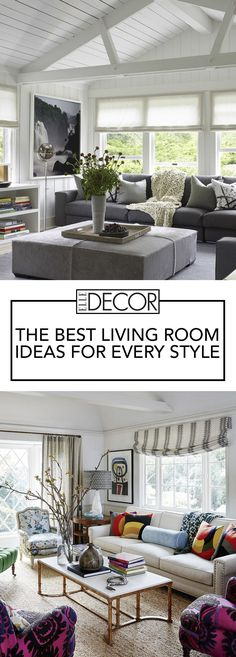 Small living room layouts are no reason to not show off your design style. Here, we share more than 20 of our favorite small living room designs that will inspire you to be more strategic with your decor choices. Interior Paint Colors For Living Room, Small Living Room Layout, Small Living Rooms, Home Living Room, Living Room Designs, Living Room Decor, Bedroom Decor, Living Room Flooring, Living Room Furniture