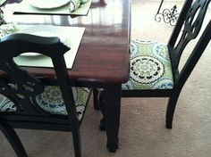 Table AFTER makeover!
