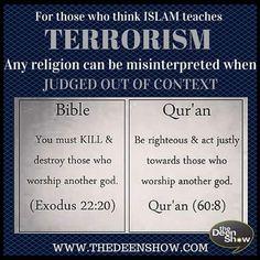Quran and Bible. Islamic Inspirational Quotes, Religious Quotes, Islamic Quotes, Quran Verses, Quran Quotes, Hindi Quotes, Qoutes, History Of Islam, Worship God