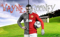 Wayne Rooney Mancherster United 2013 Wallpapers HD