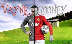 Wayne Rooney Mancherster United 2013 Wallpapers HD