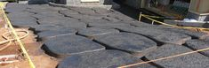 """Make a Lava Stone Driveway using Integral color, float trowel, 14"""" Mini Pool Trowel, powdered releasing agent,Rockmold.com stamps, water base stains,TruBlock sealant"""