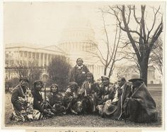 Vintage: Group of Pueblo Indians photographed at the U. This is the first time since the Lincoln Administration that the Pueblo Indians have sent a delegation to Wash. They appeared before the Senate Lands Committee. Native American Wisdom, Native American History, Native American Indians, Mississippi, Cherokees, Oklahoma, Missouri, Pueblo Indians, Colorado