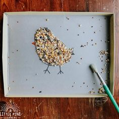 🐦 Fine Motor Bird Seed Activity 🐦 Here is a great activity that's fun for any season and perfect for little bird lovers! This activity…