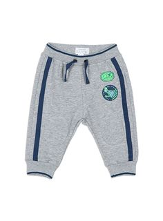 Baby Boys + Accessories Knee Patch Jogger Athletic Marle joggers
