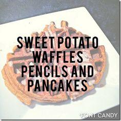 Waffles w/o sugar - paleo inspired