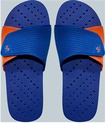 0ac1a5a1b702 Showaflops - Men s Antimicrobial Shower Sandal - Blue Orange