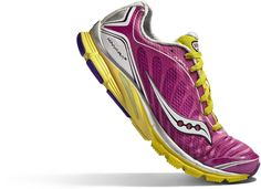 Saucony Kinvara-the best running shoe I have ever found!  This is my THIRD pair!