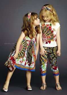 ALALOSHA: VOGUE ENFANTS: Spain in Sicily: the new Summer 2015 outfits for little ladies