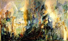 Ayahuasca Dream by Robert Venosa Jaguar, Visionary Art, Fantasy Art, Abstract Art, Artist Bio, New Artists, Heart Art, Psychedelic Art, Illustration