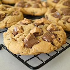 Over The Top Reese's Peanut Butter Cookies....great recipe!