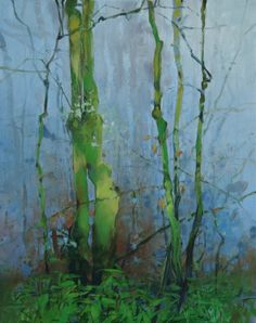 December Forest 1, painting by artist Randall David Tipton