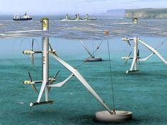 Sfruttare la forza delle maree sottomarine in Gran Bretagna