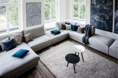 Lounge, Sofa, Couch, Living Room, Interior, Inspiration, Furniture, Jane Addams, Home Decor
