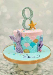 Little Mermaid Birthday Cake, Twin Birthday Cakes, Frozen Birthday Party, Birthday Parties, Mermaid Cake Pops, Mermaid Cakes, Birthday Balloon Decorations, Barbie Cake, Mermaid Parties
