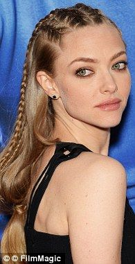 Every spring and summer, without fail, braids and plaits fetter the runways and crop up in various forms at weddings and festivals (Pictured: Amanda Seyfried)