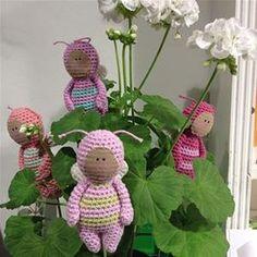 Cutie Bugs - gratis opskrift hos Tante Grøn - free pattern by ...