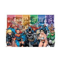 (24x36) DC Comics Justice League Characters Poster http://geek.ragebear.com/1s704