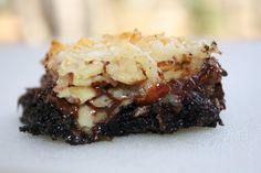 pass the peas, please: almond joy cookie bars