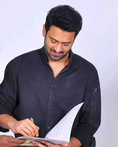 Mail Writing, Prabhas Actor, Prabhas Pics, Mr Perfect, Actors Images, Births, Super Star, Blessings, Denim Button Up