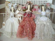 handmade Christmas fairies
