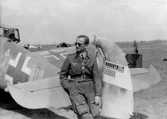 ✠ Peter Werfft (8 October 1904 – 23 July 1970) RK 28.01.1945 Oberleutnant d.R. Kdr III./JG 27 Luftwaffe, Rocket Power, Flying Ace, Battle Of Britain, Fighter Pilot, German Army, North Africa, World War Ii, Wwii