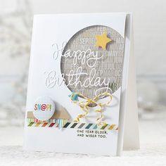 Cricut Birthday Cards, Cricut Cards, Handmade Birthday Cards, Greeting Cards Handmade, Male Birthday Cards, Birthday Wishes, Happy Birthday, Scrapbooking, Scrapbook Cards
